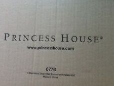 Princess House Stainless Steel Classic 8 Quart Serving Casserole NEW 6776