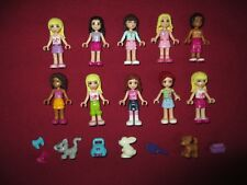 LEGO Friends  Minifigures Lot. Friends 10 Figures  3 Animals.