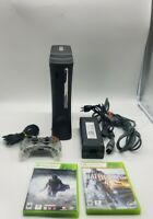 Xbox 360 Elite 120GB Console Bundle Controller, Cords & Game Lot (TESTED) v2