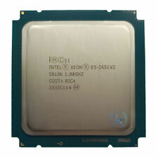 Intel Xeon E5-2651 V2 SR19K 12Core 24Threads 1.80GHz 30MB Socket LGA2011 CPU