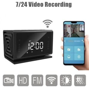 Secret Camera Digital Motion Clock Disguised Video Audio Recorder