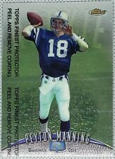 New listing 1998 Topps Finest #121 WITH PROTECTOR Peyton Manning Rookie RC HOFer HOT CARD!!
