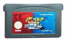 Pinball Video Game for Nintendo Game Boy Advance