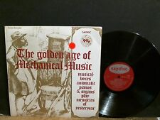 GOLDEN AGE OF MECHANICAL MUSIC  LP  sounds samples    NEAR-MINT !!