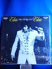 Elvis That's The Way It Is Album
