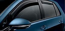 Genuine Volkswagen Golf Rear Slimline Weather Shields Part 5G4072194HU3