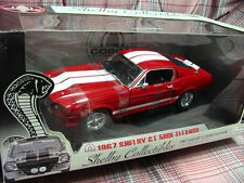 1967 Shelby Collectibles Mustang GT-500E GT-500 Eleanor RED Diecast 1:18 - NEW!