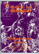 Bloch and Bradbury Whispers From Beyond 1972 FN