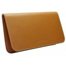 Original Samsung ef-c1a2lce Brown Leather Pouch Funda Protectora FR Galaxy Sii S2 I9100