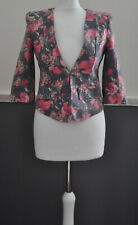 The Style London Ladies Floral Blazer Cotton Mix BNWT S / Small