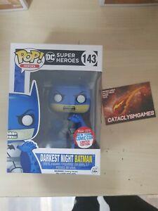 DC Super Heroes Darkest Night Batman Funko Pop Vinyl 143 Exclusive