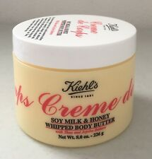 Kiehl's Creme de Corps Soy Milk & Honey Whipped Body Butter 8 oz / 226 g SEALED