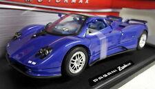 Motormax 1/18 SCALA 73147 PAGANI ZONDA c12 Blu Metallico Auto Modello Diecast