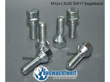 1x Radschraube BMW 12x1,5x30 sw17 Metall verzinkt