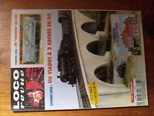 $$a6 Loco-Revue N°677 BV Nord Kibri  Crapaud de l'Est  Viaduc 3 arches H0  040T