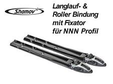 Langlauf- Skating- Skibindung & Rollerbindung mit Fixator für NNN Profil