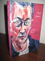 Collected Poems Paul Auster Poetry 1st Edition First Printing