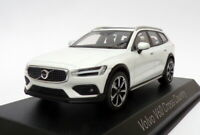 Norev 1/43 Scale Model Car 870026 - 2019 Volvo V60 Cross Country - Cristal White