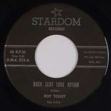 ROY TOLLEY: Back Seat Love Affair US Stardom Country Hillbilly 45 MP3