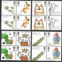 Animal Tales-2006 mnh 2  sets Pairs Great Britain-cartoons-l.Paddington-