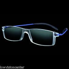 +2.0 Diopter Eschenbach Mini Frame 2 Progressive Reader - Blue, Cheaters, Specs