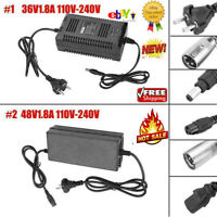 110-240V 36V/48V 1.8A Battery Intelligent Charger for E-Scooter E-Bike EU Plug