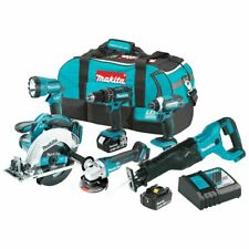 Makita XT610 18-Volt 3.0 Ah 2-Speed LXT Lithium-Ion Cordless Combo Kit - 6pc
