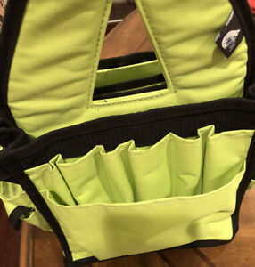Blue Fig, Lime Trimmed In Black, Sewing / Craft Caddie Organizer...Never Used