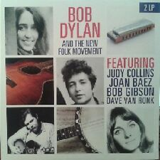 Bob Dylan and The Folk Movement Vinyl 2lp Judy Collins Joan Baez