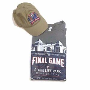 Texas Rangers baseball Globe life Park T-shirt Men's size XL and hat
