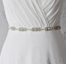 Splendidi strass nozze APPLIQUE DIAMANTE NUZIALI APPLIQUE Trim Perline Motif