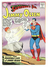 SUPERMAN'S PAL JIMMY OLSEN #40 3.5 CURT SWAN ART OW PGS 1959