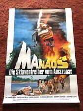 Manaos - Die Sklaventreiber vom Amazonas Kinoplakat Poster A1, Fabio Testi