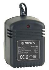Mercury 660.235 Red Ac Adaptador De Potencia 500ma 12v Ac 2.1 mm enchufe Cctv Negro Nuevo