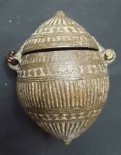 Ancienne Boite a Chaux pour Betel  , Rajasthan , Inde