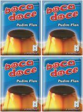 4x BOCA DOCE PUDDING FLAN PORTUGUESE INSTANT DESSERT CARAMEL 4x 10g 4x 0.4 oz