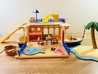 Sylvanian Families Seaside Cruiser House Boat Play Set Island Pool Slide
