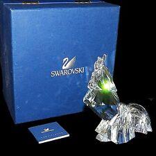Retired Swarovski Silver Crystal Symbols Art Deco Rooster Cock Figurine 68549
