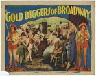 1929 Pre-Code Musical Gold Diggers of Broadway Vintage Lobby Card Advertisement