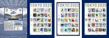 Japan Stamp - Tokyo 2020 Olympic and Paralympic Games Stamp Booklet - Limited