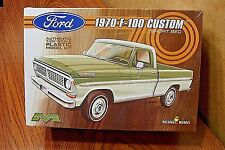 MODEL KING MODELS 1970 FORD F-100 CUSTOM PICKUP TRUCK 1/25 SCALE MODEL KIT
