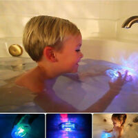Baby Kids Colorful LED Light Bath Wash Floating Ball Toy Waterproof Party Gift