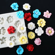 Flower Lace Silicone Mould Cake Decoating Border Fondant Baking Mold Sugarcraft