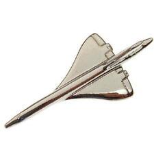 Concorde Tie Pin Nickel Plated Tiepin Badge