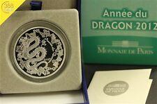 10 Euro Frankreich Jahr des Drachen Year of the Dragon 2012 PP Silber