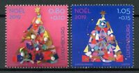 Luxembourg Christmas Stamps 2019 MNH Trees End of Year Celebrations 2v Set