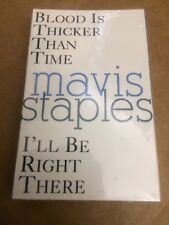MAVIS STAPLES BLOOD IS THICKER THAN TIME FACTORY SEALED CASSETTE SINGLE 5