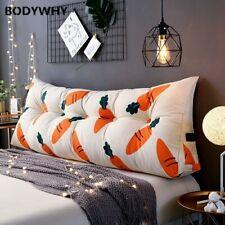 Canvas European Triangular Backrest Pillow Long Sofa Cushion Backrest Pillow
