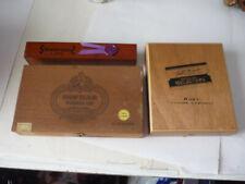 THREE CIGAR BOXS  EMPTY LOYAL RUKY , HOFNAR & STRADIVARIU
