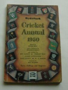 Playfair Cricket Annual 1950